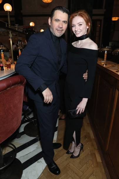 Roland Mouret and Eleanor Tomlinson
