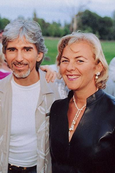 Damon Hill and Countess Manfredi Della Gherardesca