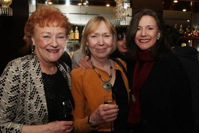 Sue Wallace, Gabrielle Lloyd and Belinda Lang