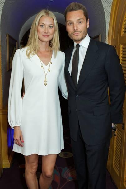 Heidi Wichlinski and Seb Bishop