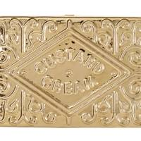 Metal clutch, £995, by Anya Hindmarch