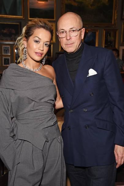 Rita Ora and Dylan Jones