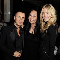 Julien Macdonald, Eva Chow and Melissa Odabash