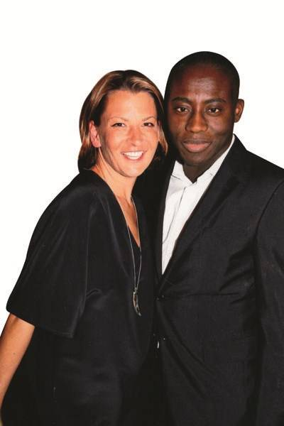 Tania Foster-Brown and Edward Enninful