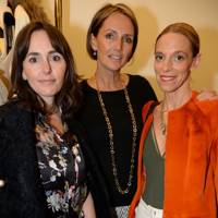 Tania Fares, Saffron Aldridge and Tiphaine de Lussy