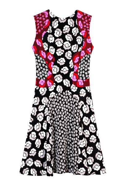 Silk dress, £520, by Diane von Furstenberg