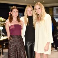 Camilla de La Morinière, Octavia Anstruther-Gough-Calthorpe and Gabriella Wilde