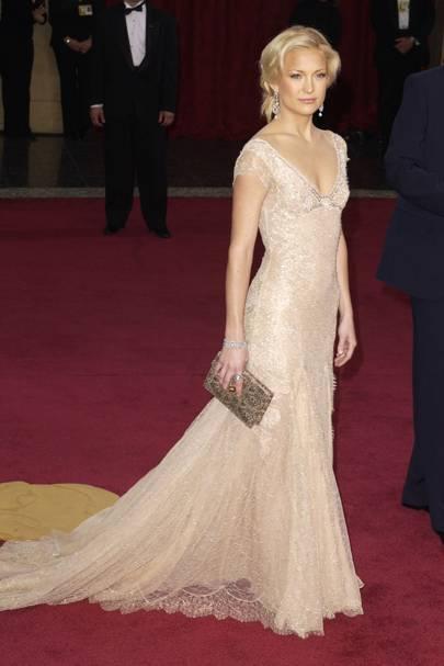 Kate Hudson wearing Versace in 2003