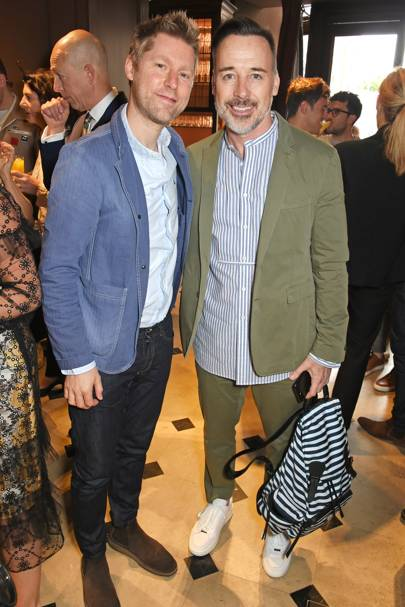 Christopher Bailey and David Furnish