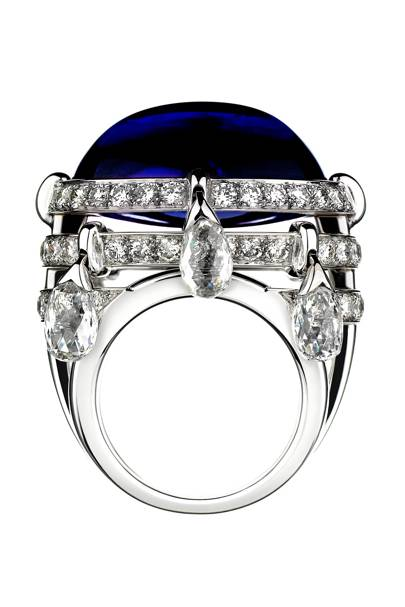 Tanzanite and diamond ring, POA, The Ritz Fine Jewellery