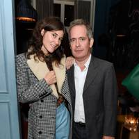 Bella Freud and Tom Hollander