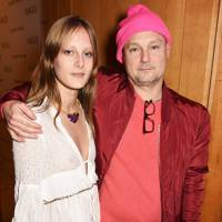 Olympia Campbell and Juergen Teller