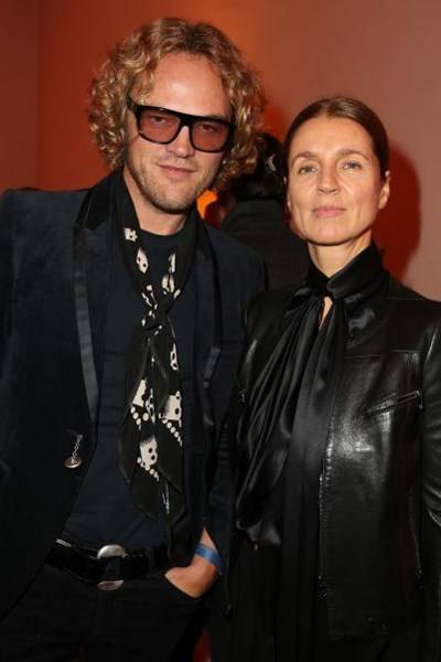 Peter Dundas and Karla Otto