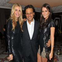 Melissa Odabash, Arun Nayar and Kim Johnson
