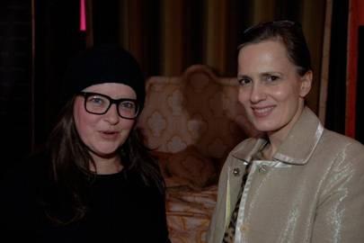 Linda Bennett and Virginia White