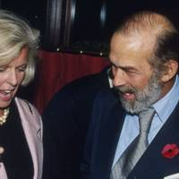 Mrs Neil Balfour and Prince Michael of Kent