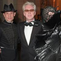 Stefan Bartlett, Philip Treacy and Harriet Verney
