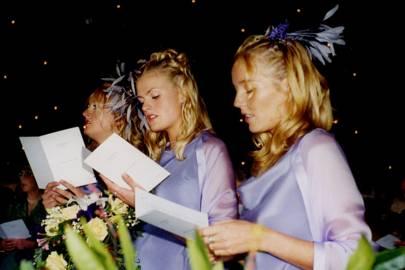Jane Tyser, Rosie Tyser and Belinda Weir