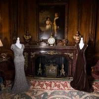 See the Countess of Derby's couture collection