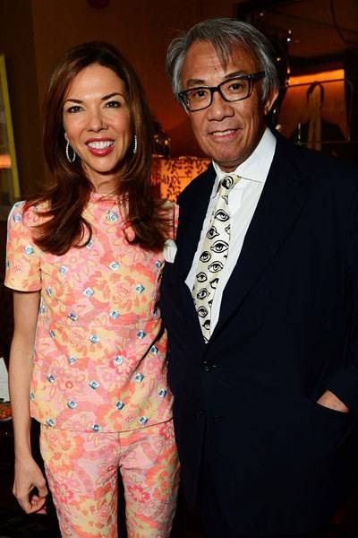 Heather Kerzner and Sir David Tang