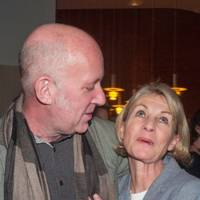 Michael Fishwick and Kate Mosse