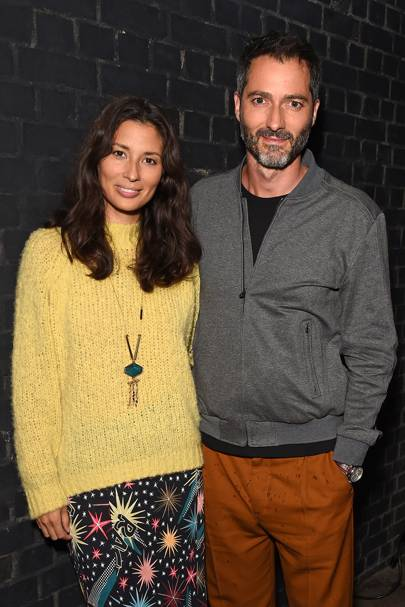 Jasmine Hemsley and Nick Hopper
