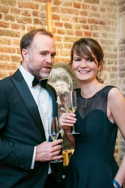Jon Bath and Francisca Wiggins
