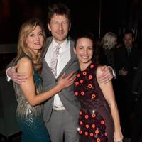 Natascha McElhone, Mark Bazeley and Kristin Davis
