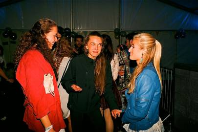 Fanny Berg, Caroline Corthouts and Sophia Johnsen