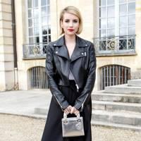 Emma Roberts in Dior