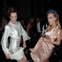 Florence Welch and Mary Charteris