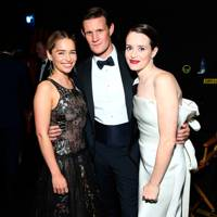 Emilia Clarke, Matt Smith and Claire Foy