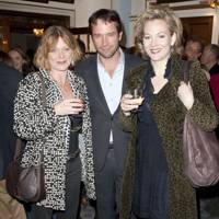 Samantha Bond, James Purefoy and Sara Stewart