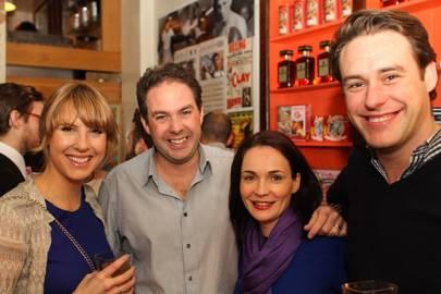 Sarah Estens, Mathew Stokie, Vallerie Stokie and Phil McMahon
