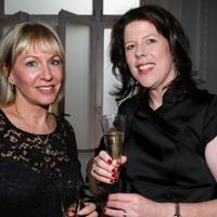 Nadine Dorries MP and Vicky Field