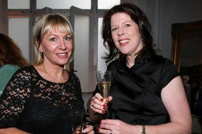 Nadine Dorries MP and Vicky Field