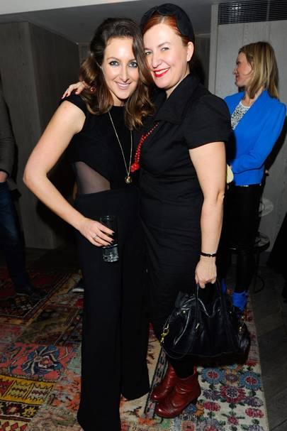 Natasha Corrett and Justine Jenkins