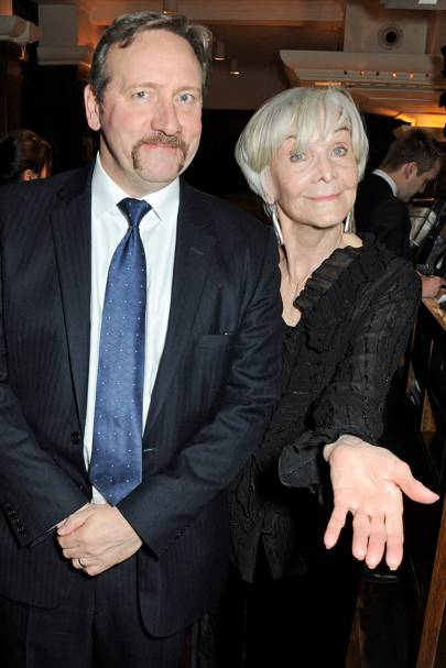 Neil Dudgeon and Sheila Hancock