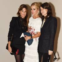 Jemima Khan, Laura Bailey and Bella Freud