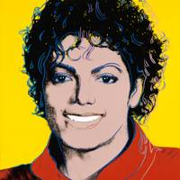 Michael Jackson by Andy Warhol 1984