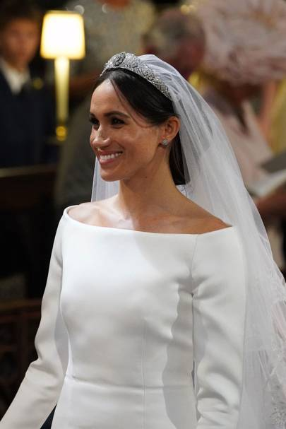 The Queen Mary Diamond Bandeau Wedding Tiara