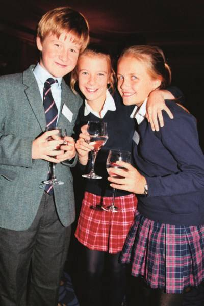 James Kennedy, Sophia Weighill and Jasmine White-Thornton