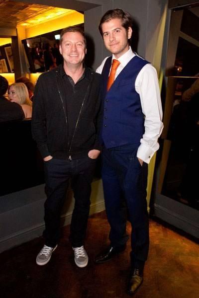 Matthew Freud and Jack Freud