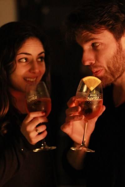 Zana Elias and Max Henderson