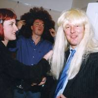 Mrs Adrian Haines, Adrian Haines and Bill Wiggin
