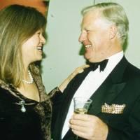 The Hon Mrs Amschel Rothschild and Sir Jocelyn Stevens
