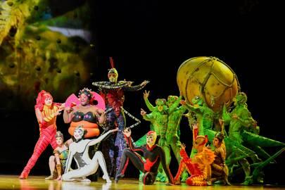OVO (Cirque du Soleil) at Royal Albert Hall