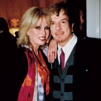 Joanna Lumley and Nicky Haslam