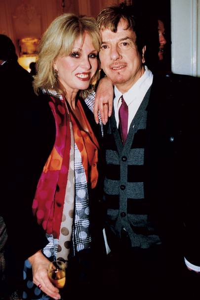 Joanna Lumley and Nicky Haslam