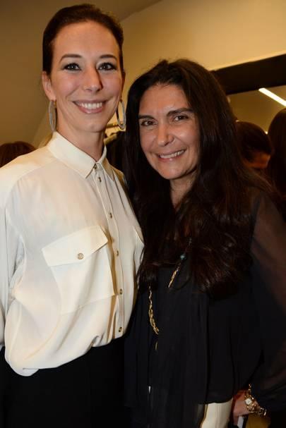 Kristina Blahnik and Sagra Maceira de Rosen
